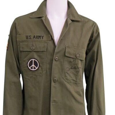 John Lennon worn and signed US-Army-Jacket