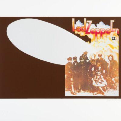 """Led Zeppelin II"" Limited Fine Art Print - Signed by David Juniper"