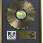 Abbey Road RIAA Gold Award Presented To John Lennon