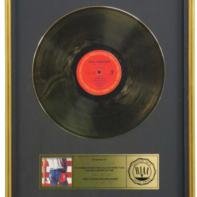 Born In The USA RIAA Gold Award Presented To Bruce Springsteen