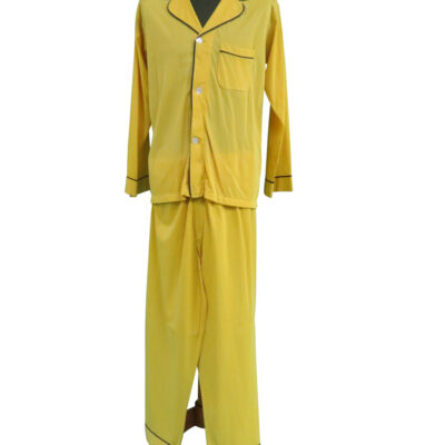 Elvis Presley owned and worn Yellow Pajama Set