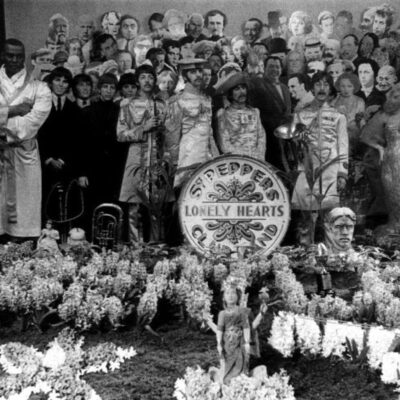 The Beatles - Sgt. Pepper's Lonley Heart Club Band Black and White Outtake by Miachael Cooper