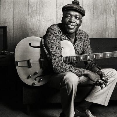"John Lee Hooker, Memphis 1974 ""At Home with John Lee"""