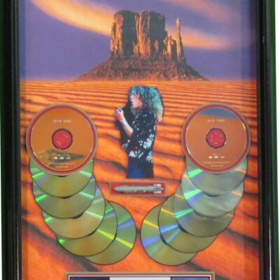 RIAA MultiPlatinum Award Presented To Robert Plant