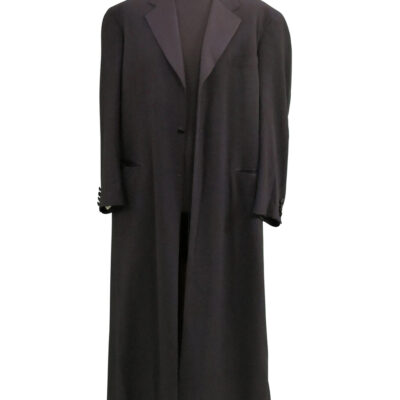 Black Long Coat owned and worn by Neil Young