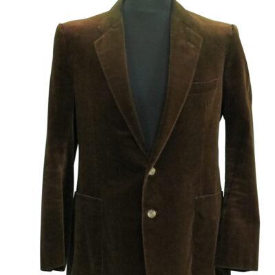 Bruce Springsteen worn Brown Velvet Jacket