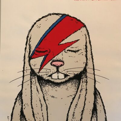 """Foo Fighters - """"Aleppin Sane"""" 2008 The Joint, Las Vegas - Limited Edition Concert Poster by Jermaine Rogers"""