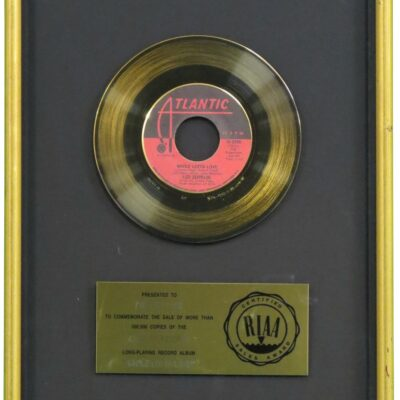 Whole Lotta Love RIAA Gold Award Presented To Robert Plant