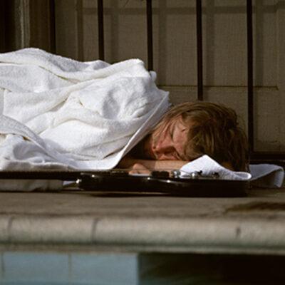 Kurt Cobain Sleeping