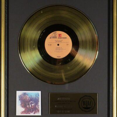 Cry of Love RIAA Gold Award Presented to Jimi Hendrix