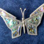 Original Butterfly Brooch worn by Janis Joplin