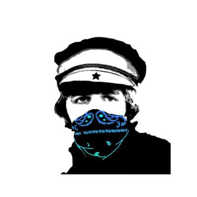 Blue Bandana Man Limited Art Print by Ringo Starr