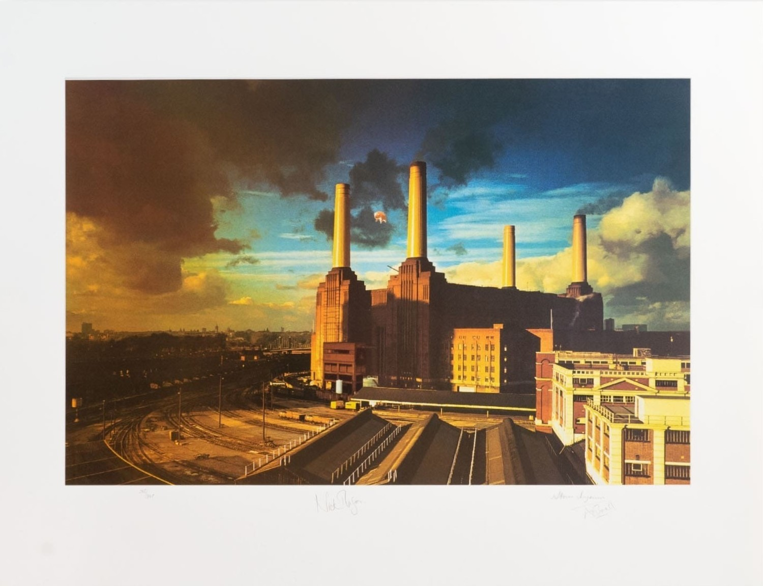 """Pink Floyd """"Animals"""" Limited Fine Art Print - Signed by Storm Thorgerson"""