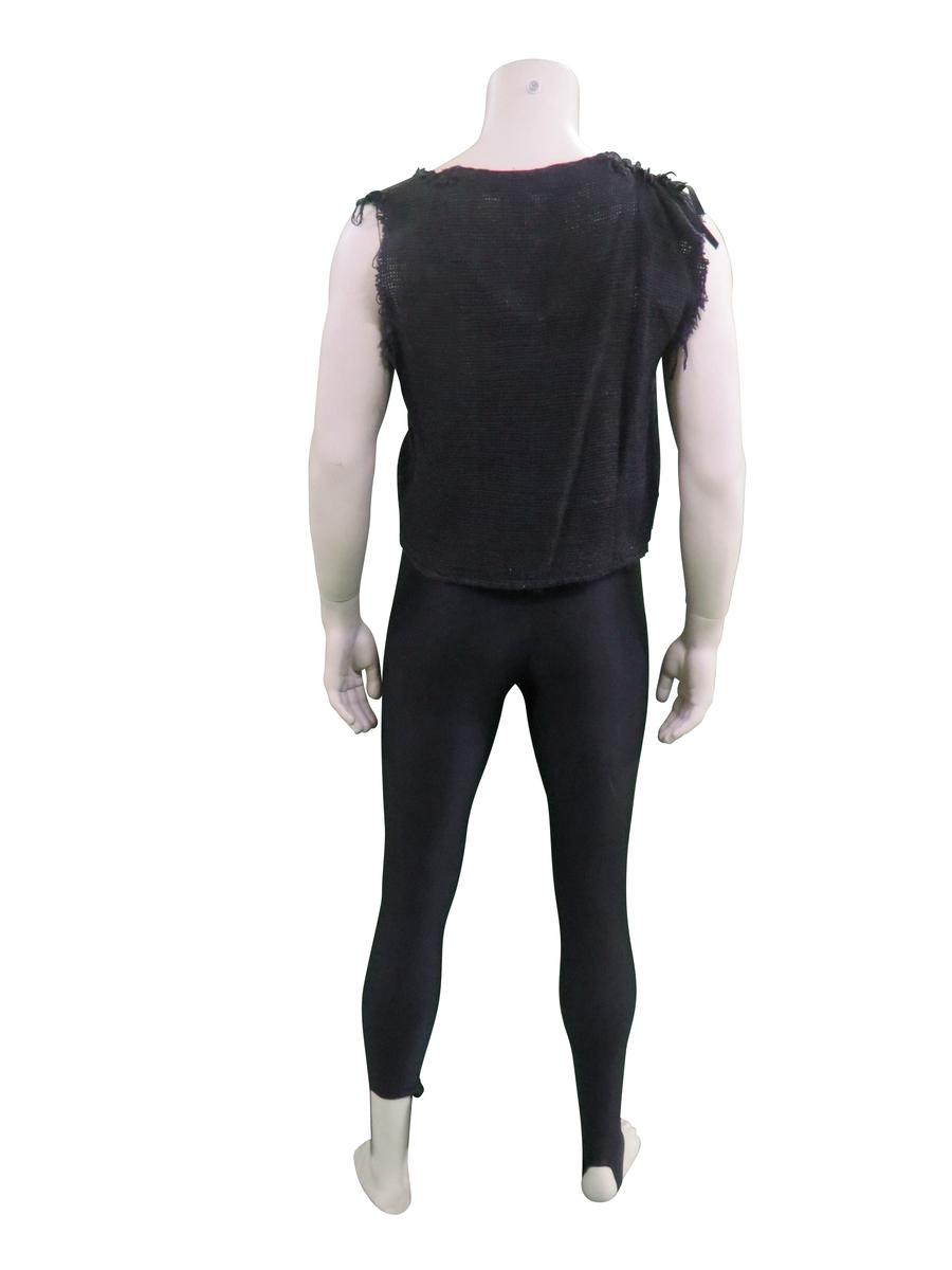 Black Stage-Dress worn by Paul Stanley