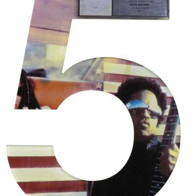 """""""5"""" RIAA Multi Platinum Award"""