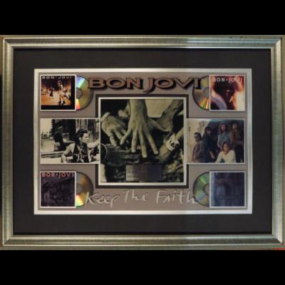 Keep The Faith Award for sales over 40'000'000 Album, Casette and CD