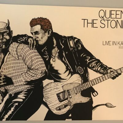 Jermaine Rogers - 2017 Queens of the Stone Age Opal Edition Concert Poster