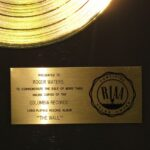 The Wall RIAA Gold Award Presented To Roger Waters