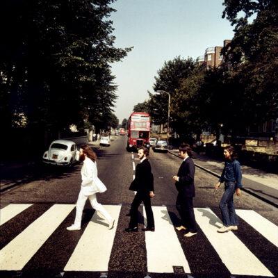 "The Beatles - The Abbey Road Set ""Frame 4"" by Iain Macmillan"