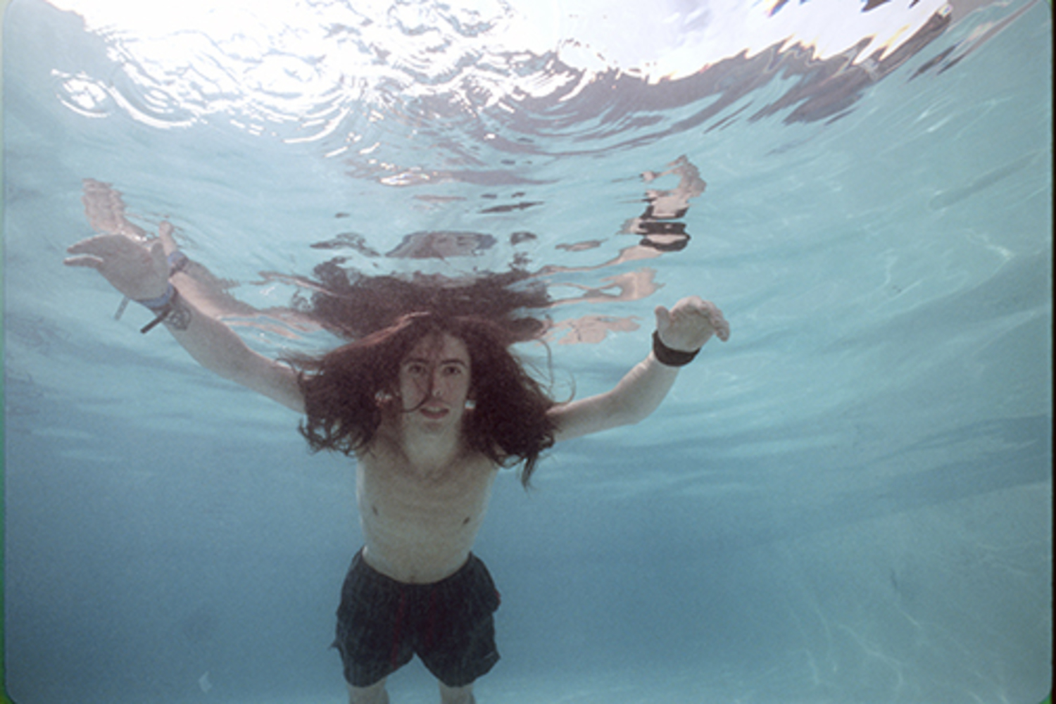 Nirvana Nevermind Dave Grohl Underwater