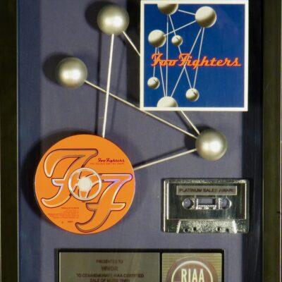 The Colour and the Shape RIAA Platinum Award