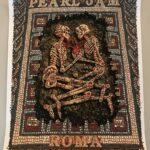 "EMEK - 2018 ""Roma"" Pearl Jam Silkscreen Concert Poster"