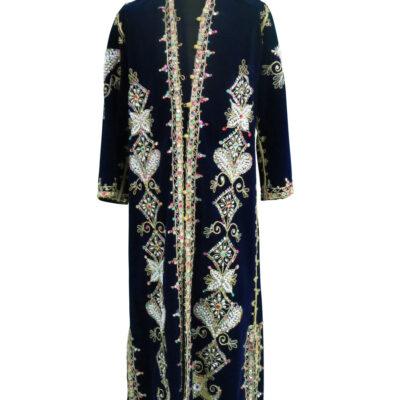 Elvis Presley owned and worn Blue Velvet Caftan