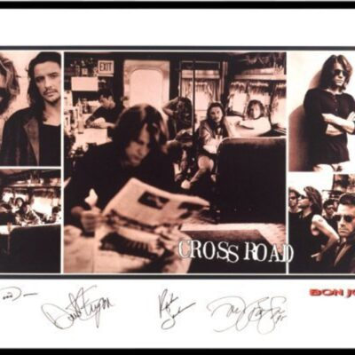 """Bon Jovi - """"Cross Road"""" Limited Edition Art Print - Signed by all Band members"""