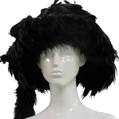 Steven Tyler Owned and Worn Feather Hat - Designed by Ivy Supersonic
