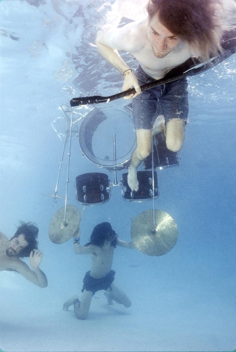 Nirvana Nevermind Underwater II Photo