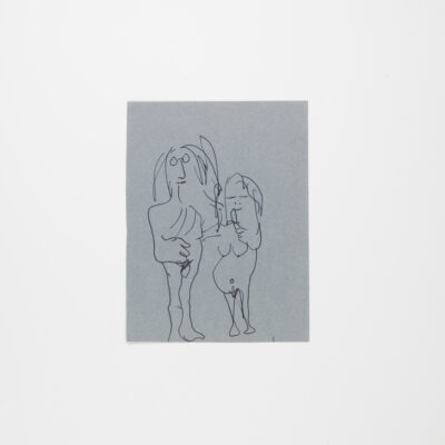 Hand-Drawn Sketch by John Lennon