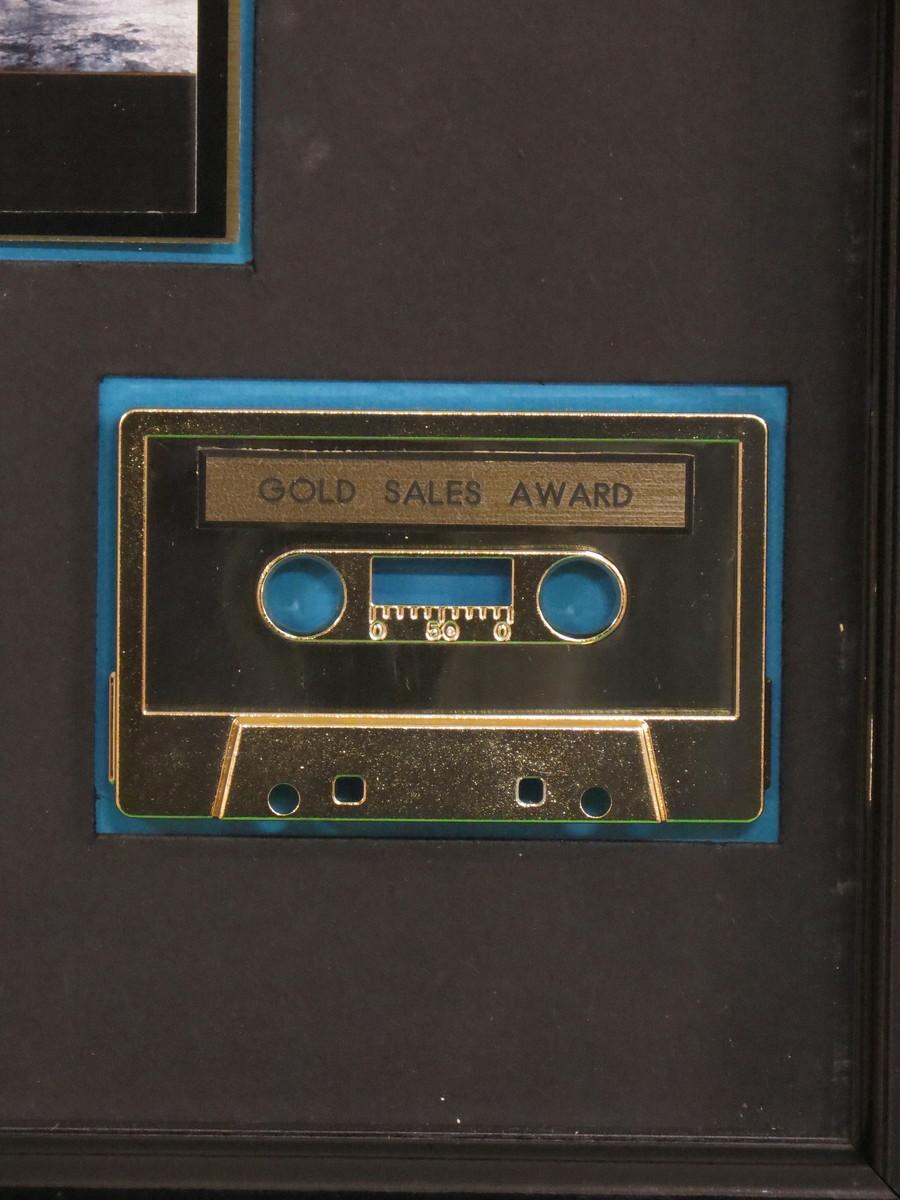 The Joshua Tree RIAA Gold Award Gold Presented To U2