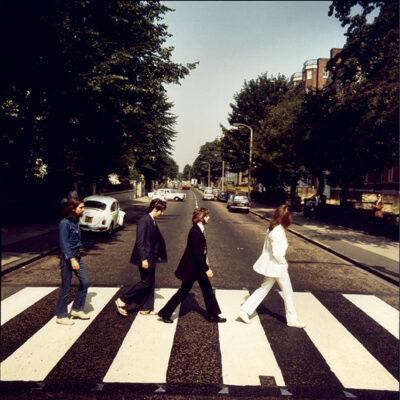 "The Beatles - The Abbey Road Set ""Frame 1"" by Iain Macmillan"