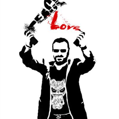 Peace and Love - Limited Art Print by Ringo Starr