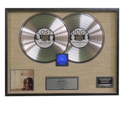 Lost Dogs RIAA Platinum Award