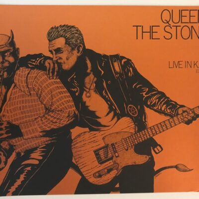 Jermaine Rogers - 2017 Queens of the Stone Age Copper Edition Concert Poster