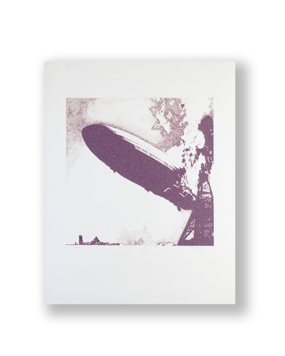 """""""Led Zeppelin I"""" Limited Edition Fine Art Print by Hipgnosis and signed by George Hardie"""