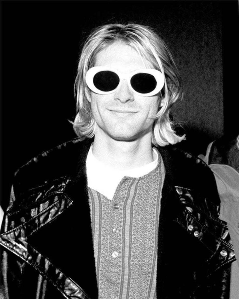 Kurt Cobain 1993 - by Karen Mason Blair