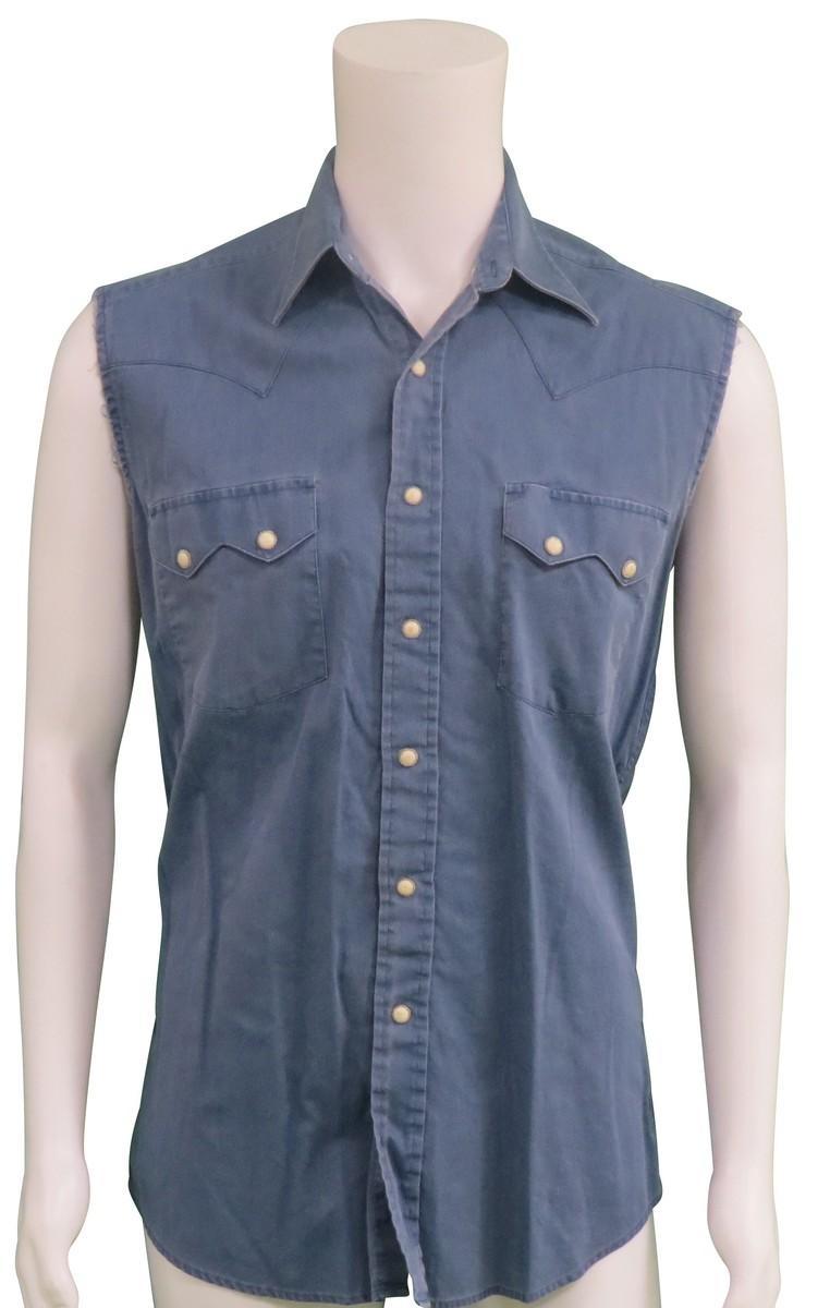 Bruce Springsteen Stage worn sleeveless shirt