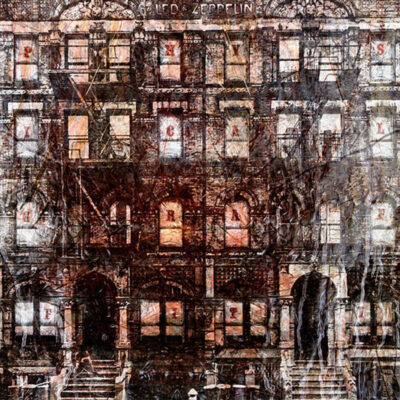 """""""Physical Graffiti"""" Limited Art Print on Canvas by A.J."""