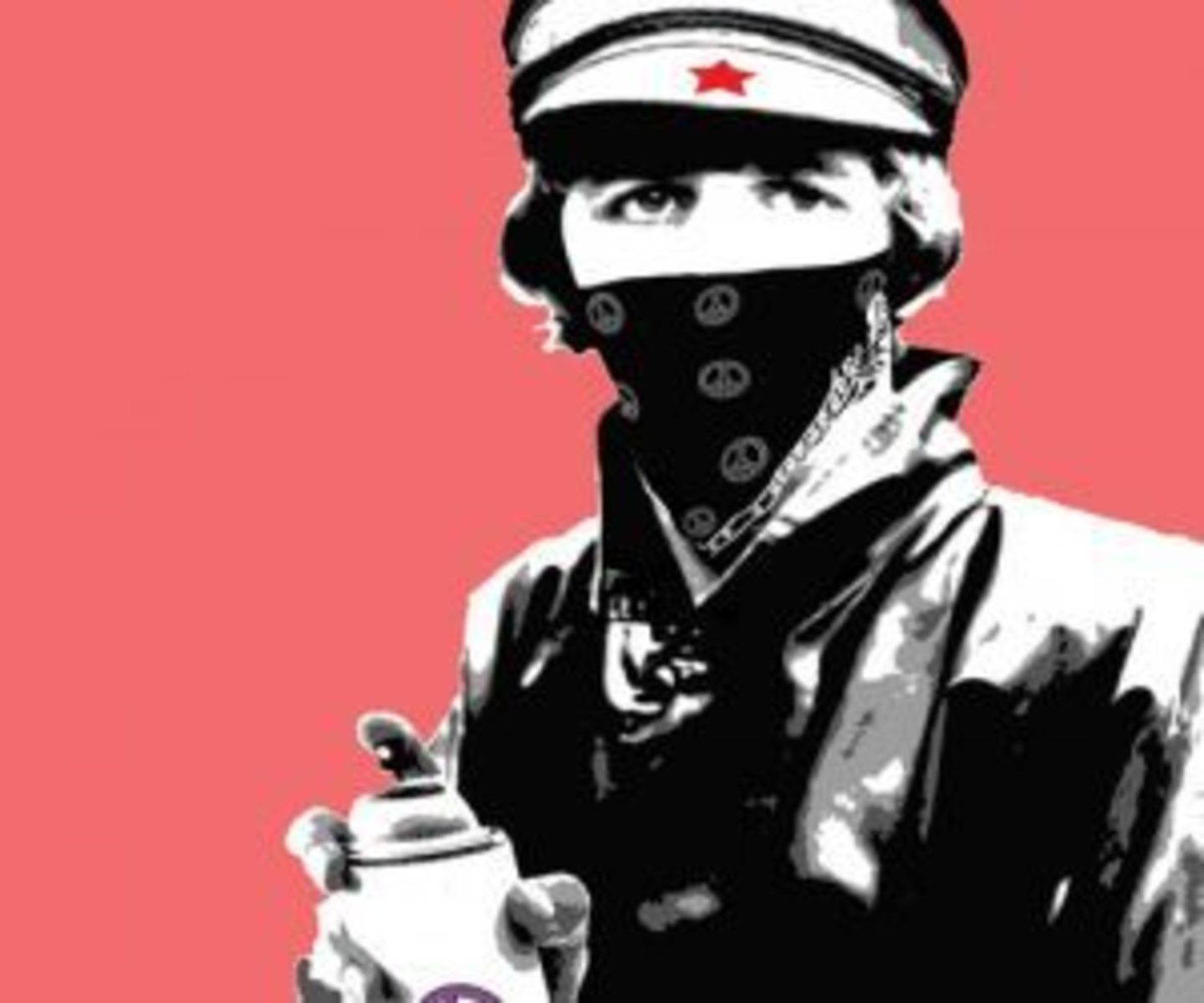 Bandana Man with Paint Can - Limited Art Print by Ringo Starr