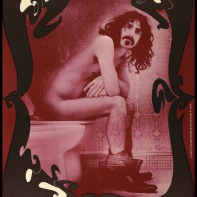 "Frank Zappa ""Zappa Krappa"" Toilet Poster - Signed by Robert Davidson"