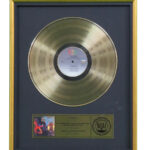 Let's Dance RIAA Gold Award Presented To David Bowie