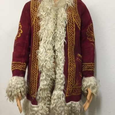Red Fur Coat owned and worn by Janis Joplin