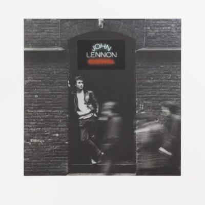 "John Lennon ""Rock N Roll"" Limited Edition Fine Art Print by Jürgen Vollmer - Signed by Yoko Ono and Jürgen Vollmer"