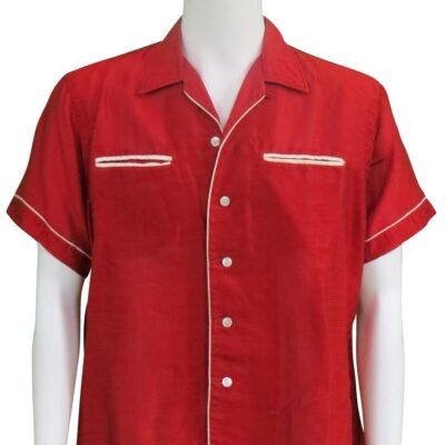 Elvis Presley owned and worn Red Shirt