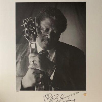 "B.B. King ""King Of Blues"" - Limited Edition Fine Art Print - Signed by B.B. King"