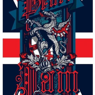 Pearl Jam - 2021 Hyde Park London Streaming Edition Poster - By Brad Klausen