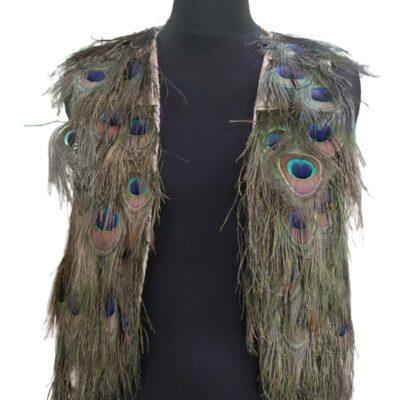Peacock Feather Vest Replica made by Jordan Betten