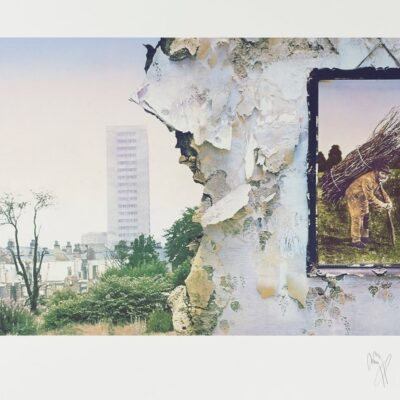 Led Zeppelin IV Limited Edition Fine Art Print - Signed by Jimmy Page